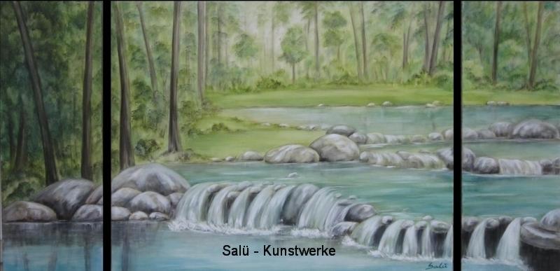 Fluß im Wald