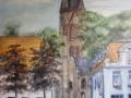 Kirche/ Rathaus Warin 2009