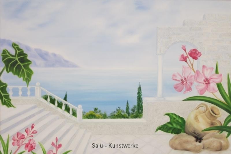 Mediterraner Meerblick