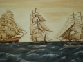 Drei Schiffe