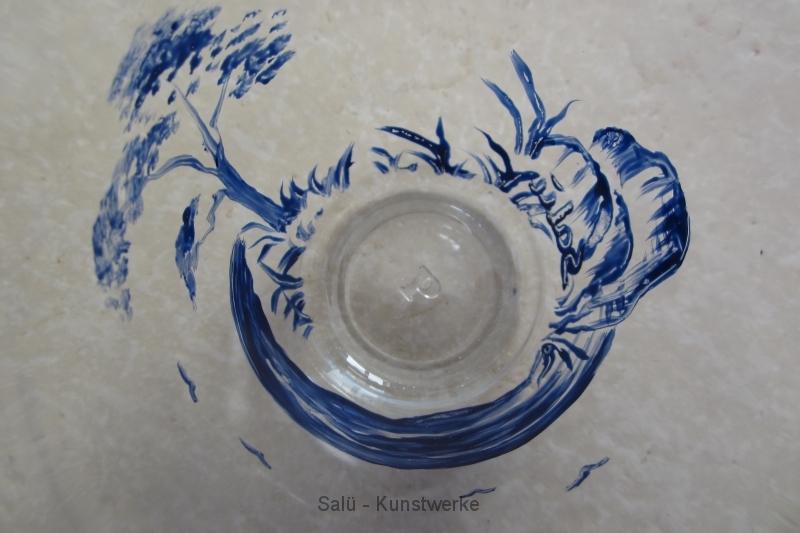 Glas blau 1 (Vogelperspektive)